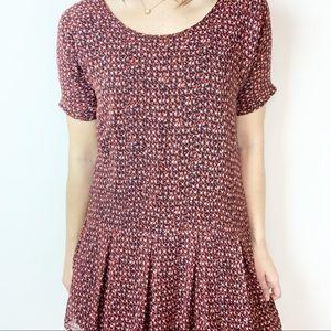 Madewell Dresses - Madewell Broadway & Broome Fireflicker silk dress
